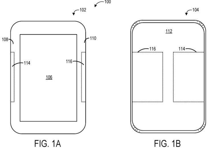 brevet microsoft tissu tactile