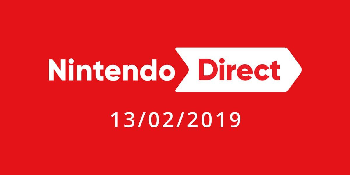 Nintendo Direct 13 février