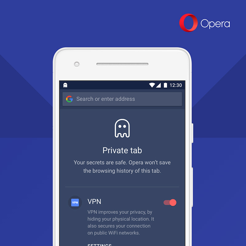 Opera VPN Android