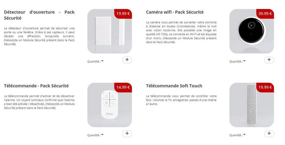 Boutique accessoires Freebox Delta