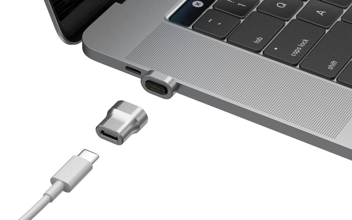 ThunderMag adaptateur magnétique USB-C