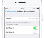 Les certificats d'entreprise d'Apple utilisé pour installer des applications piratées