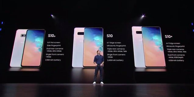 Les Samsung Galaxy S10 peuvent (enfin) recevoir Android 10