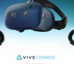 Les controleurs HTC Vive Cosmos se montrent en vidéo