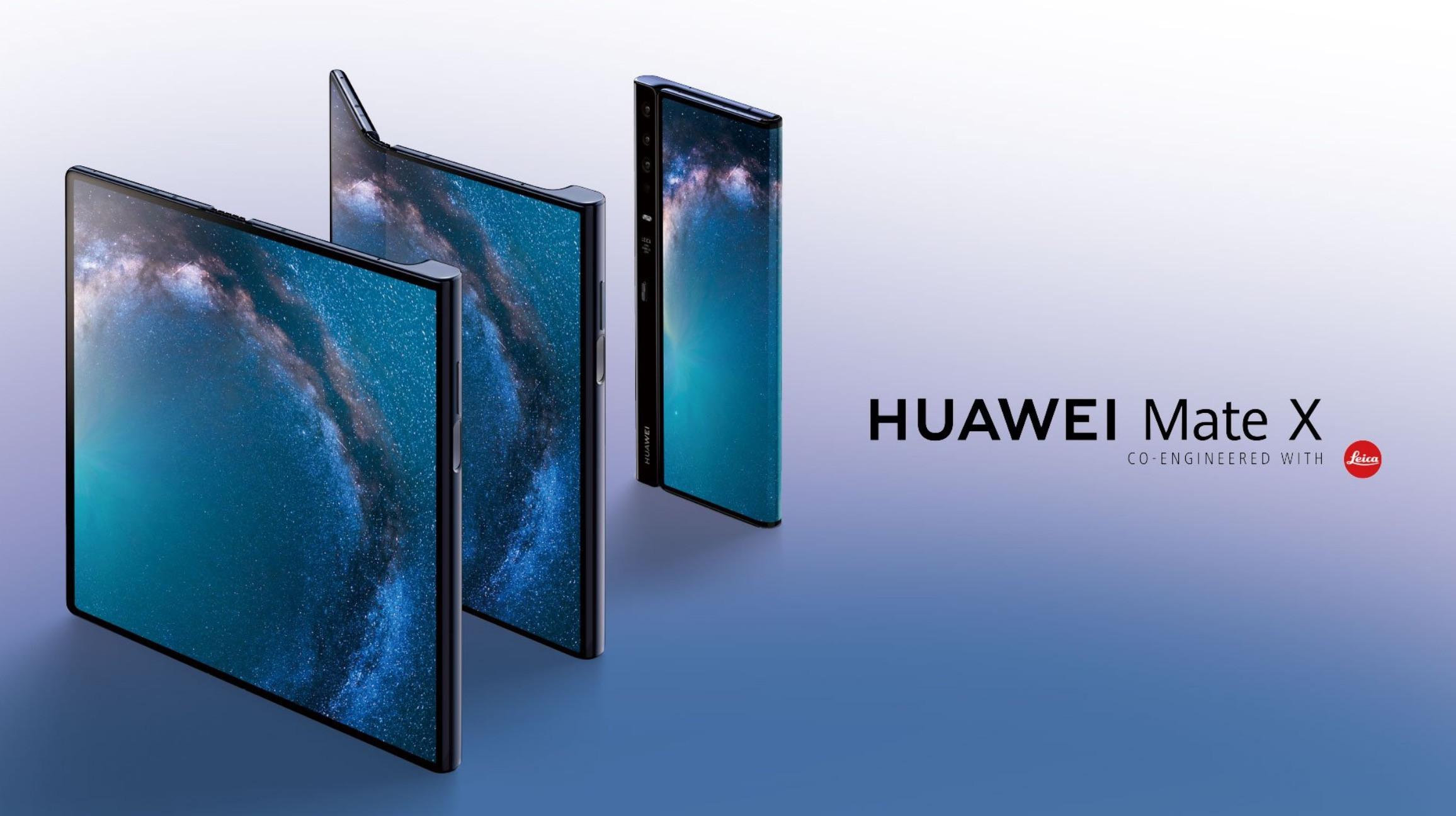 Mate X : Huawei vendrait 100 000 exemplaires de son smartphone pliable par mois