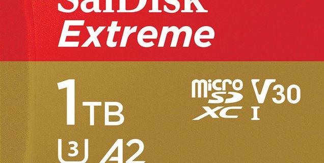SanDisk dévoile la microSD de 1 To la plus rapide du monde