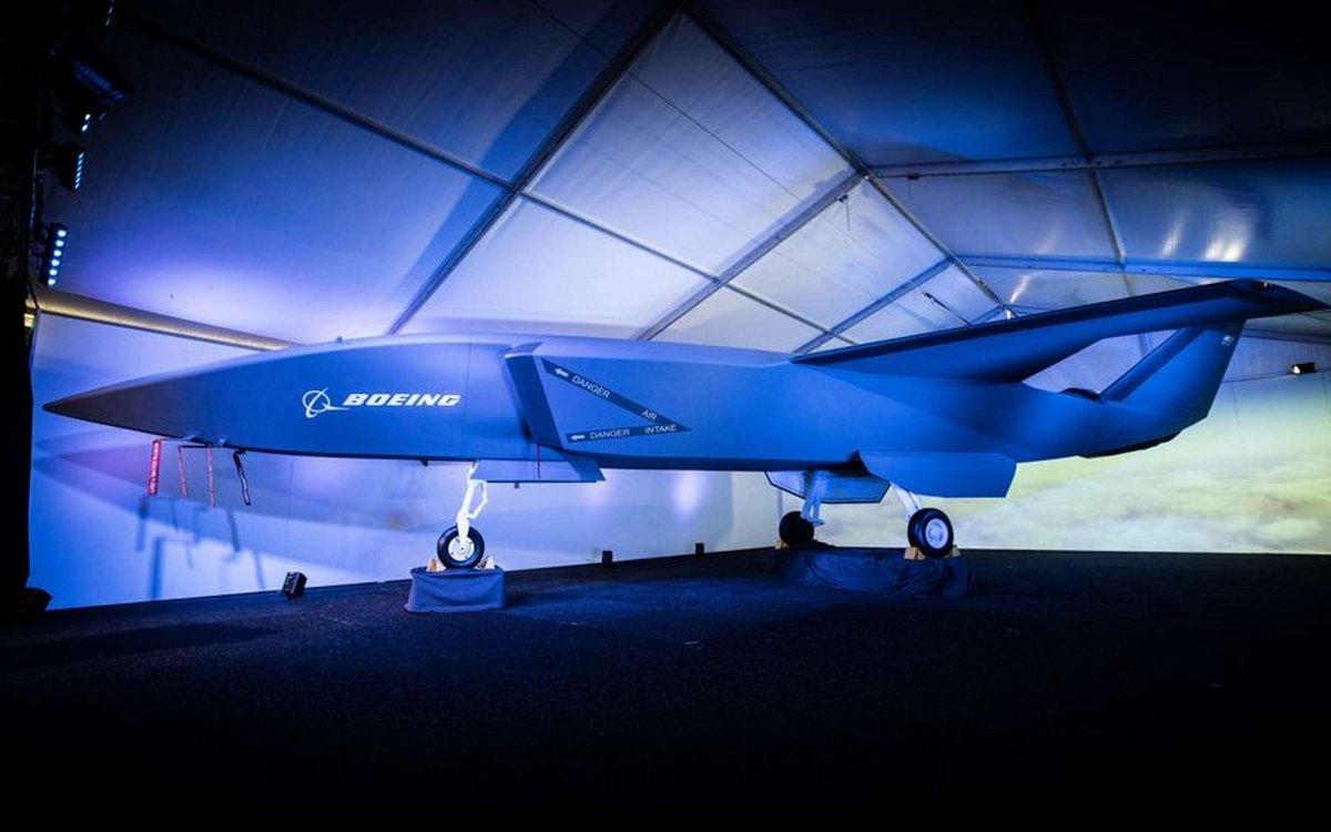 Boeing avion autonome