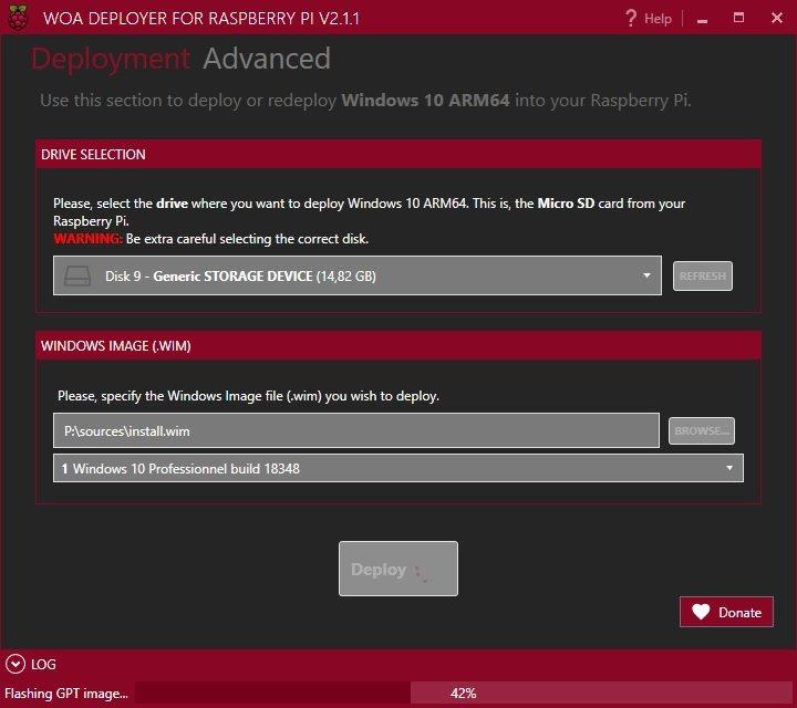 On a testé l'installation de Windows 10 on ARM sur Raspberry Pi !