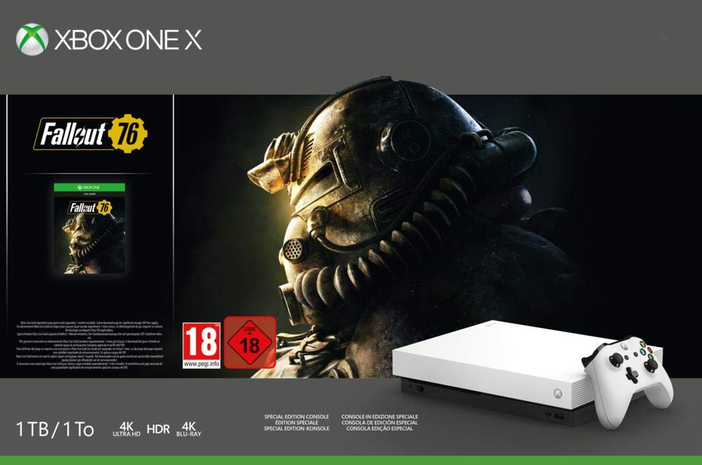 Xbox One X Fallout 76