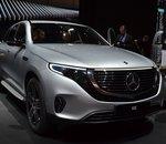 Face à Tesla, l'onéreux SUV électrique Mercedes EQC peinerait à se vendre