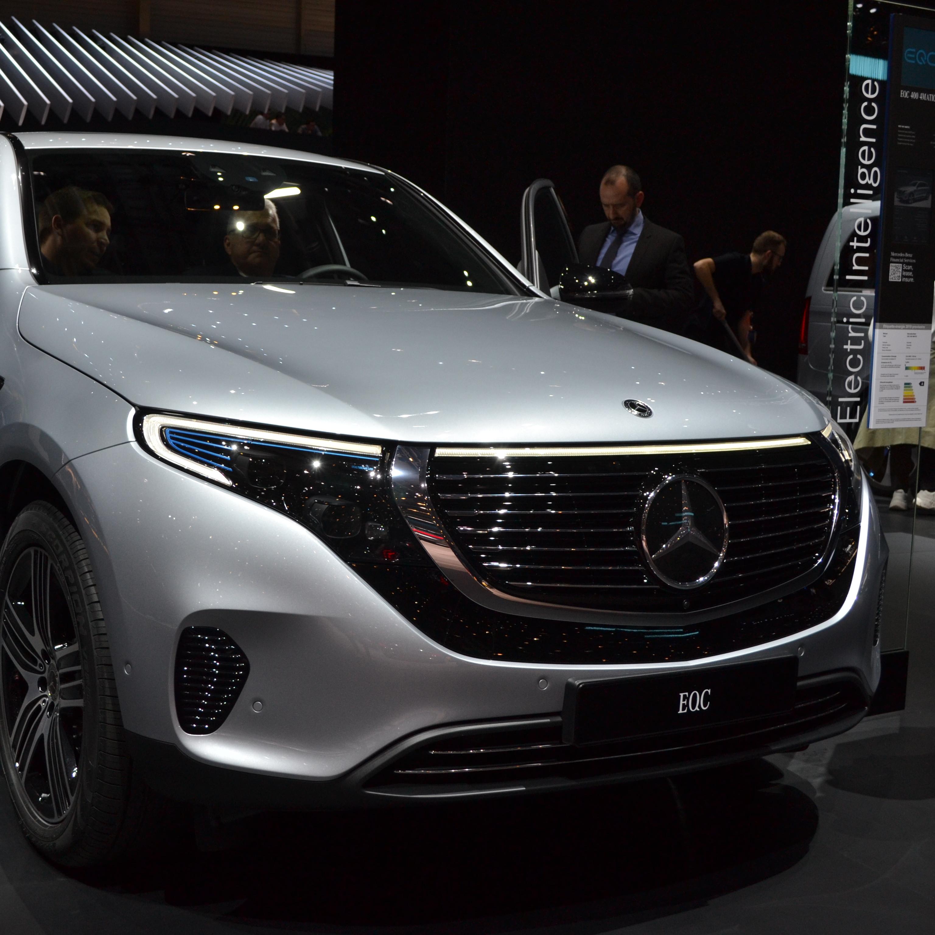 Mercedes calcule l'impact environnemental de son EQC en considérant la provenance de l'électricité