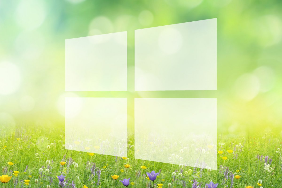 Windows 10 april update spring
