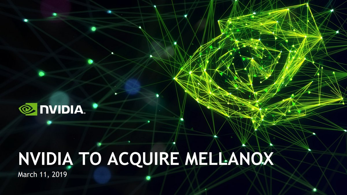 NVIDIA to acquire Mellinox