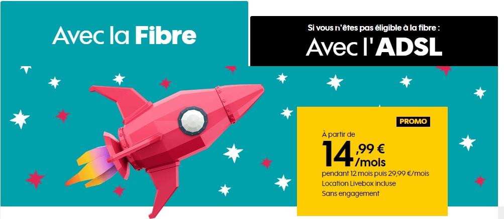 Offre fibre Sosh
