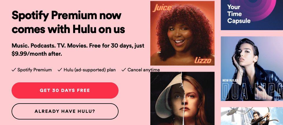 Spotify x Hulu