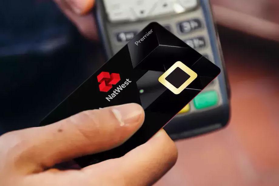 carte crédit biométrique
