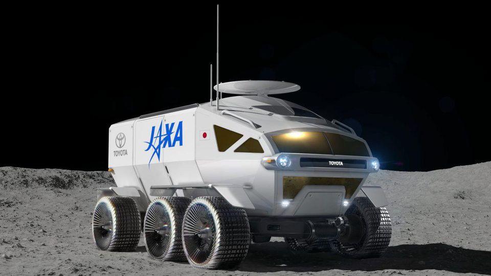 Véhicule autonome Lune JAXA Toyota