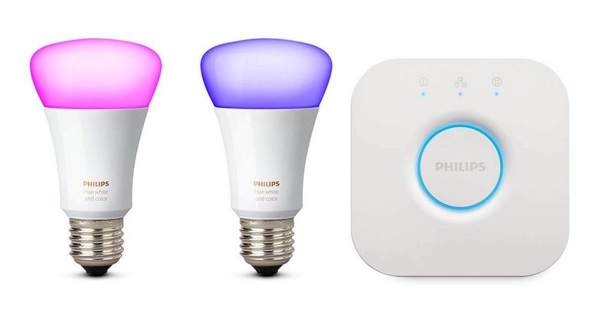 Kit ampoules Philips Hue