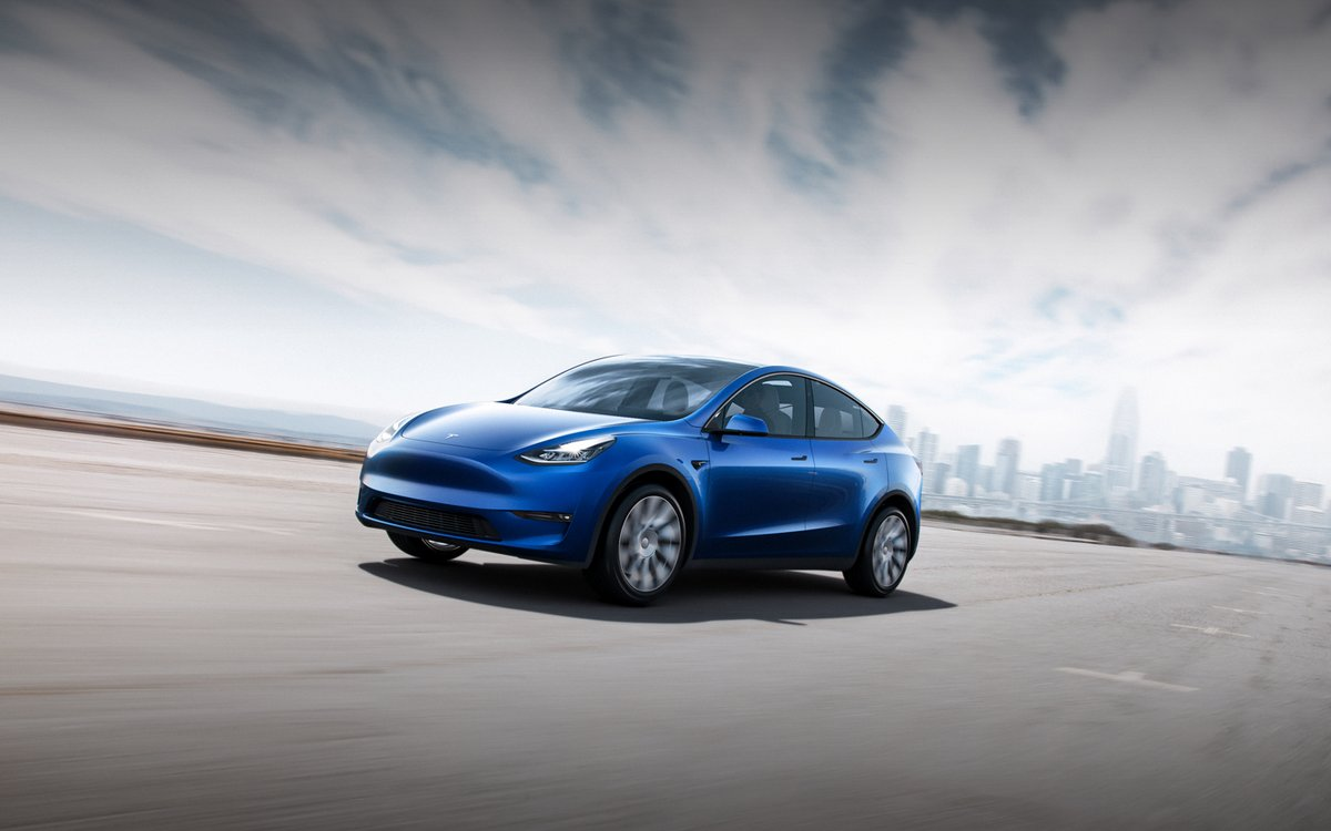 tesla model y le suv sera produit fremont les. Black Bedroom Furniture Sets. Home Design Ideas