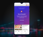 Brave : la nouvelle version Android dispo, les Brave Rewards en bêta