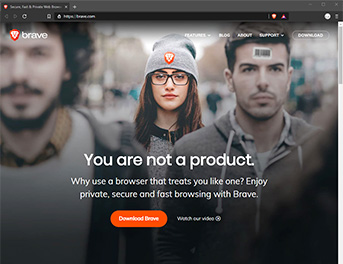 Interface Brave