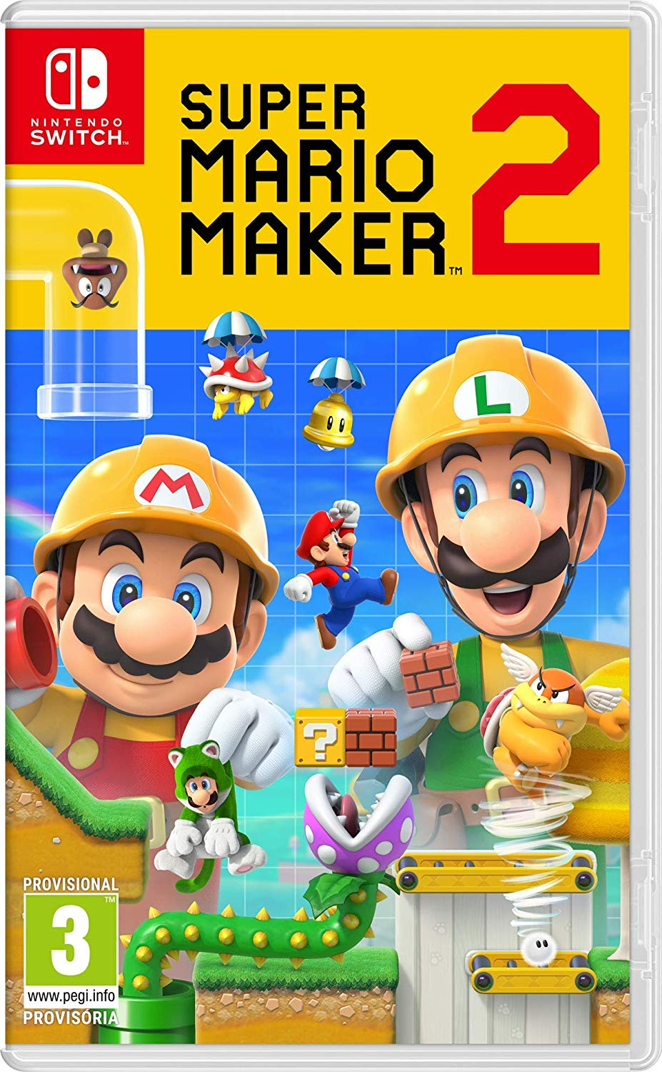 Super Mario Maker 2 jaquette