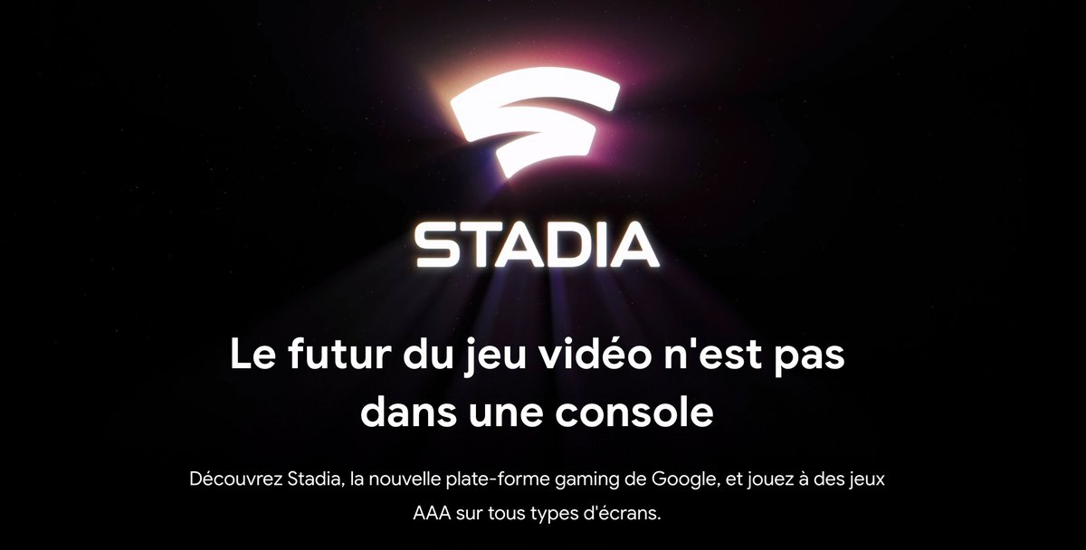 Stadia cloud gaming