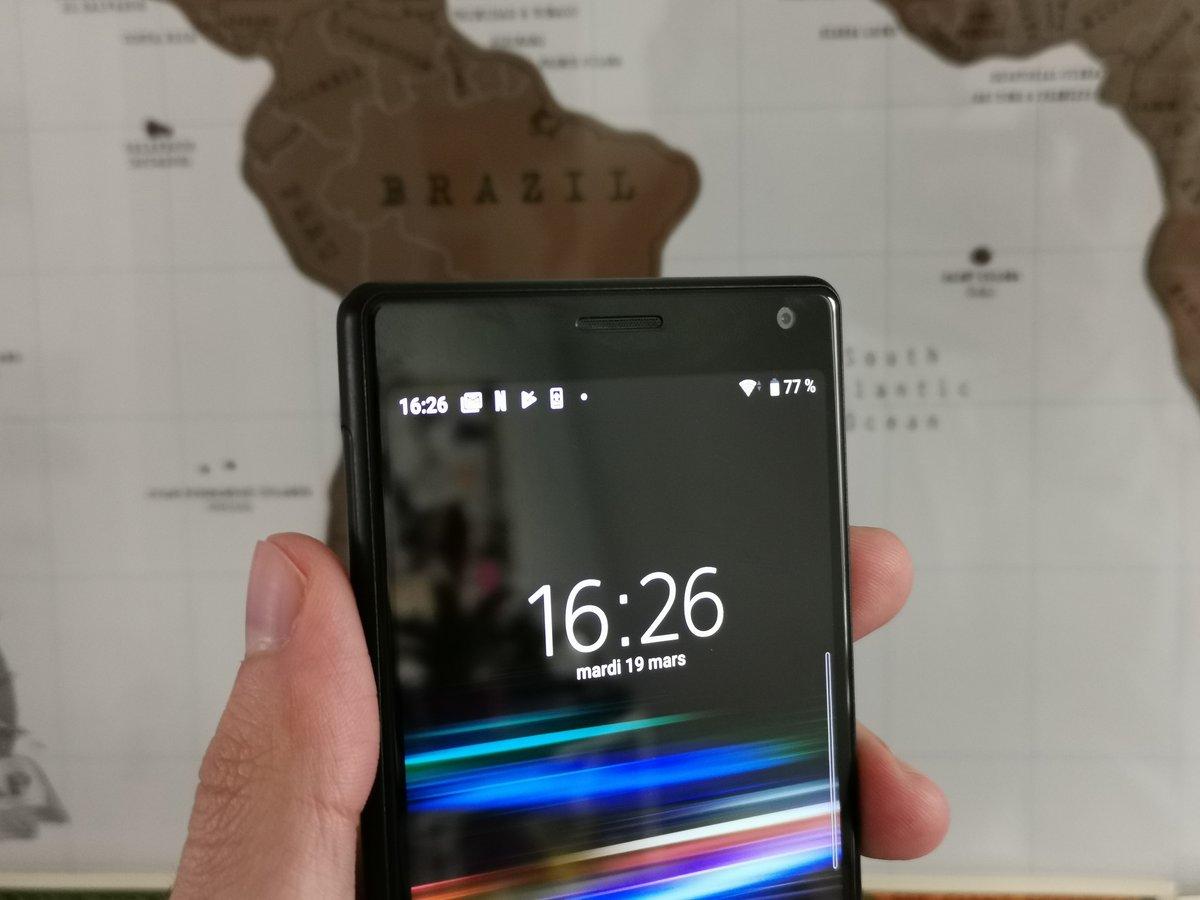 Sony Xperia 10 test