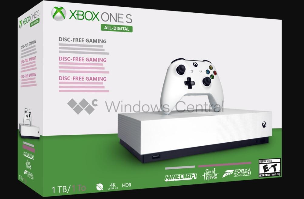 Xbox One All Digital 2