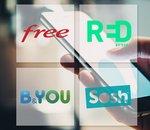  Free mobile, RED by SFR, B&You ou Sosh : quel forfait sans engagement choisir ?