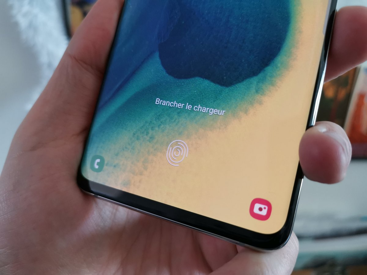 Samsung Galaxy S10+ test