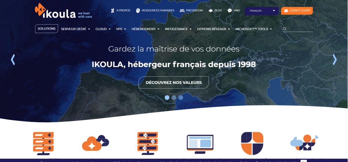 Site Ikoula