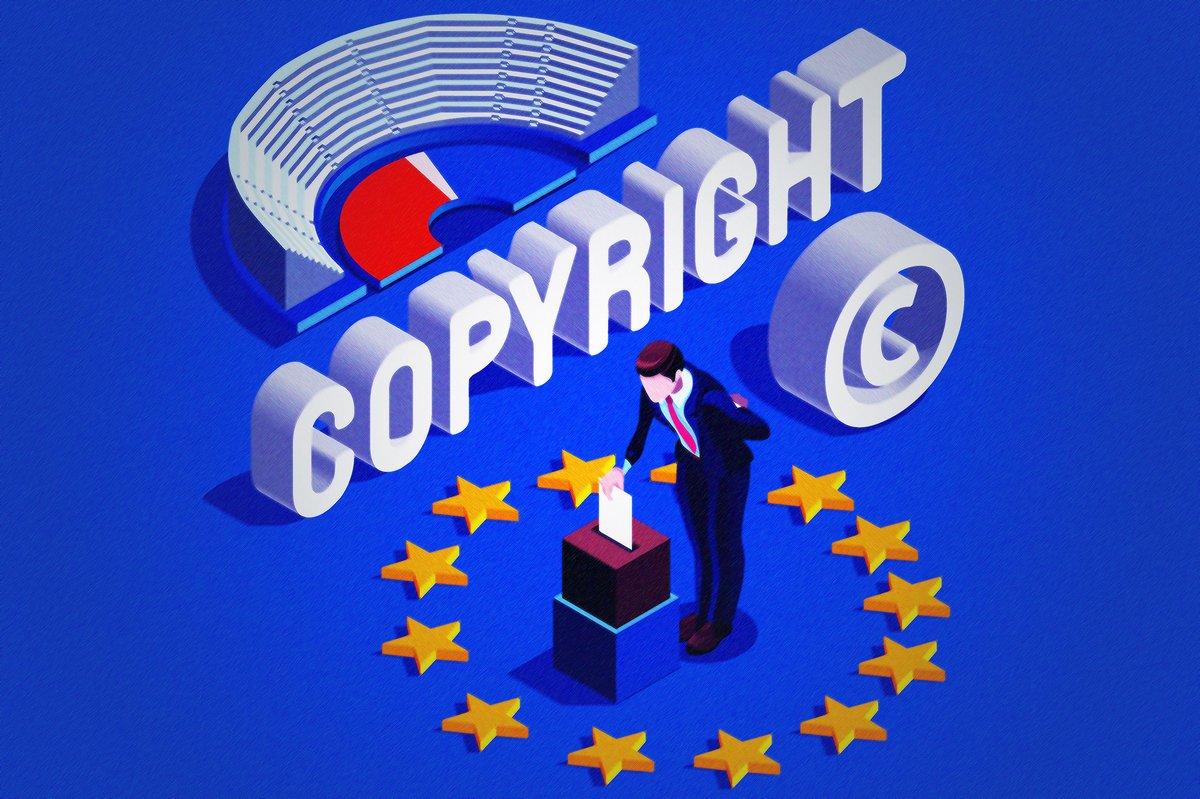 Directive copyright UE