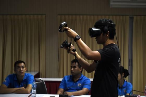 Entraînement réalité virtuelle catastrophes