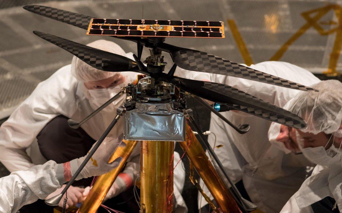 Hélicoptère MARS - NASA