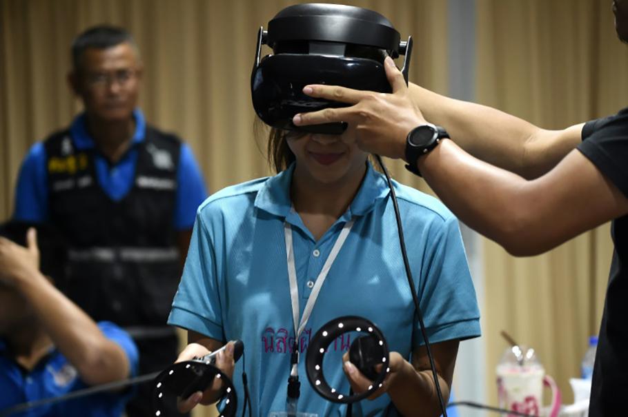 CICR and Virtual reality