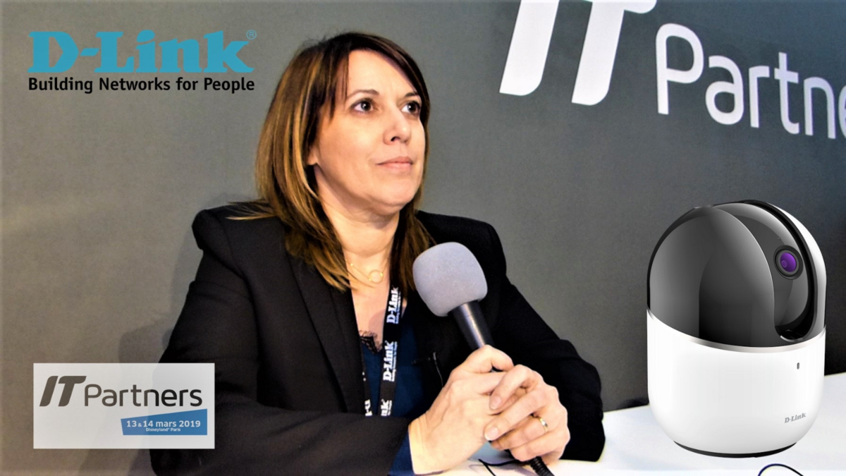 D-Link, Marilyne Michel (IT Partners)
