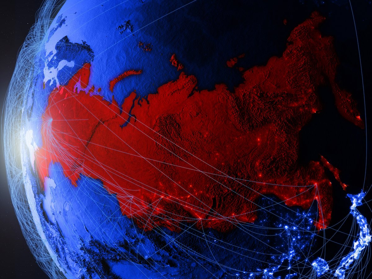 Russian network © Shutterstock.com