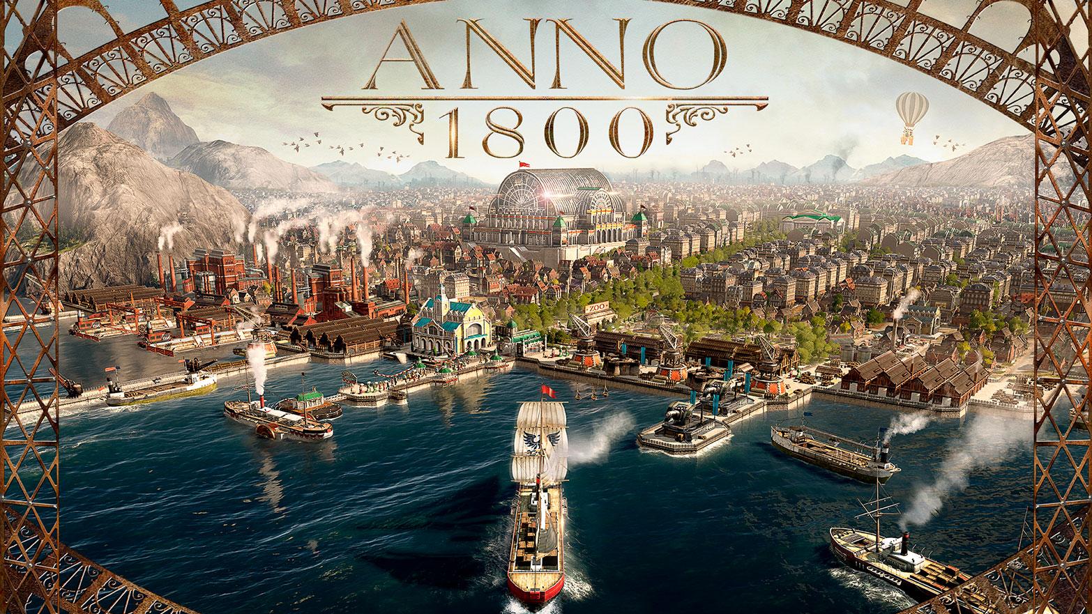 Sans surprise, Ubisoft annonce que Anno 1800 sera une