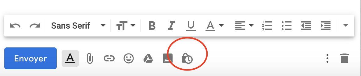 Gmail confidentiel