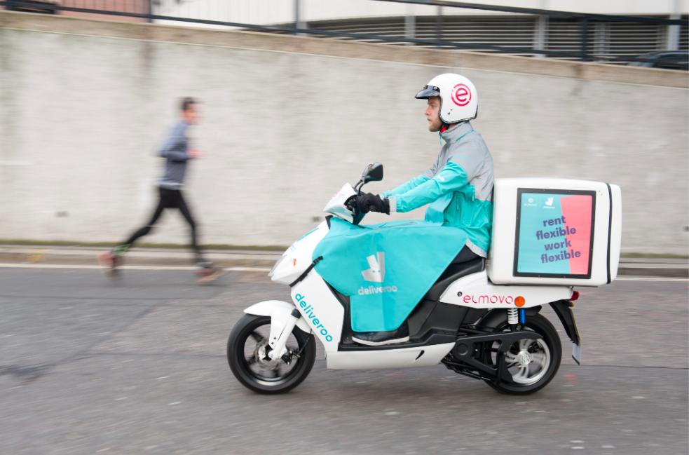 Deliveroo Scooter électrique