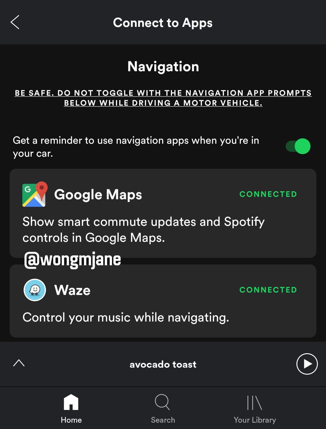 Spotify Google Maps