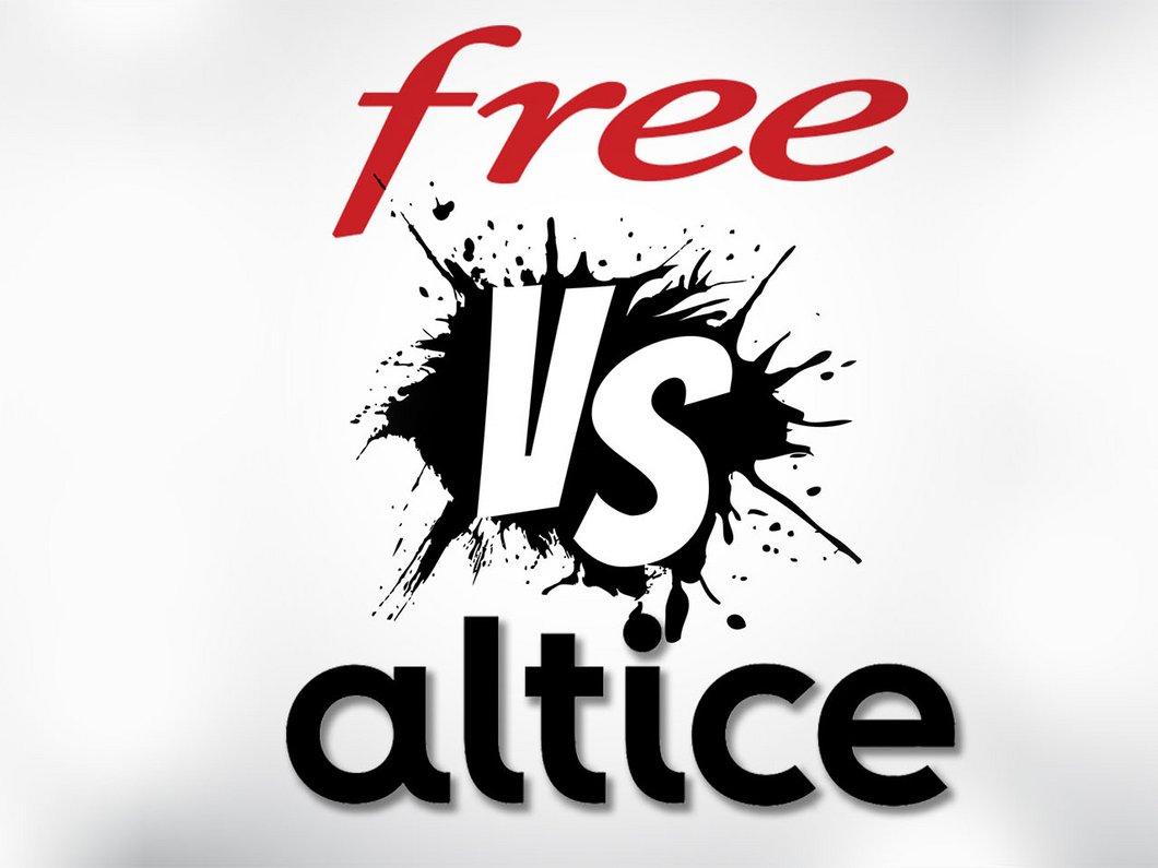 Free VS Altice : les chaines BFM et RMC de retour sur la Freebox