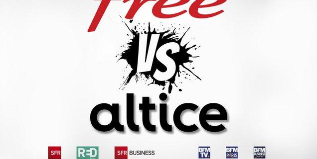 MàJ - Free devait arrêter de diffuser les chaines du groupe Altice dès aujourd'hui, finalement non
