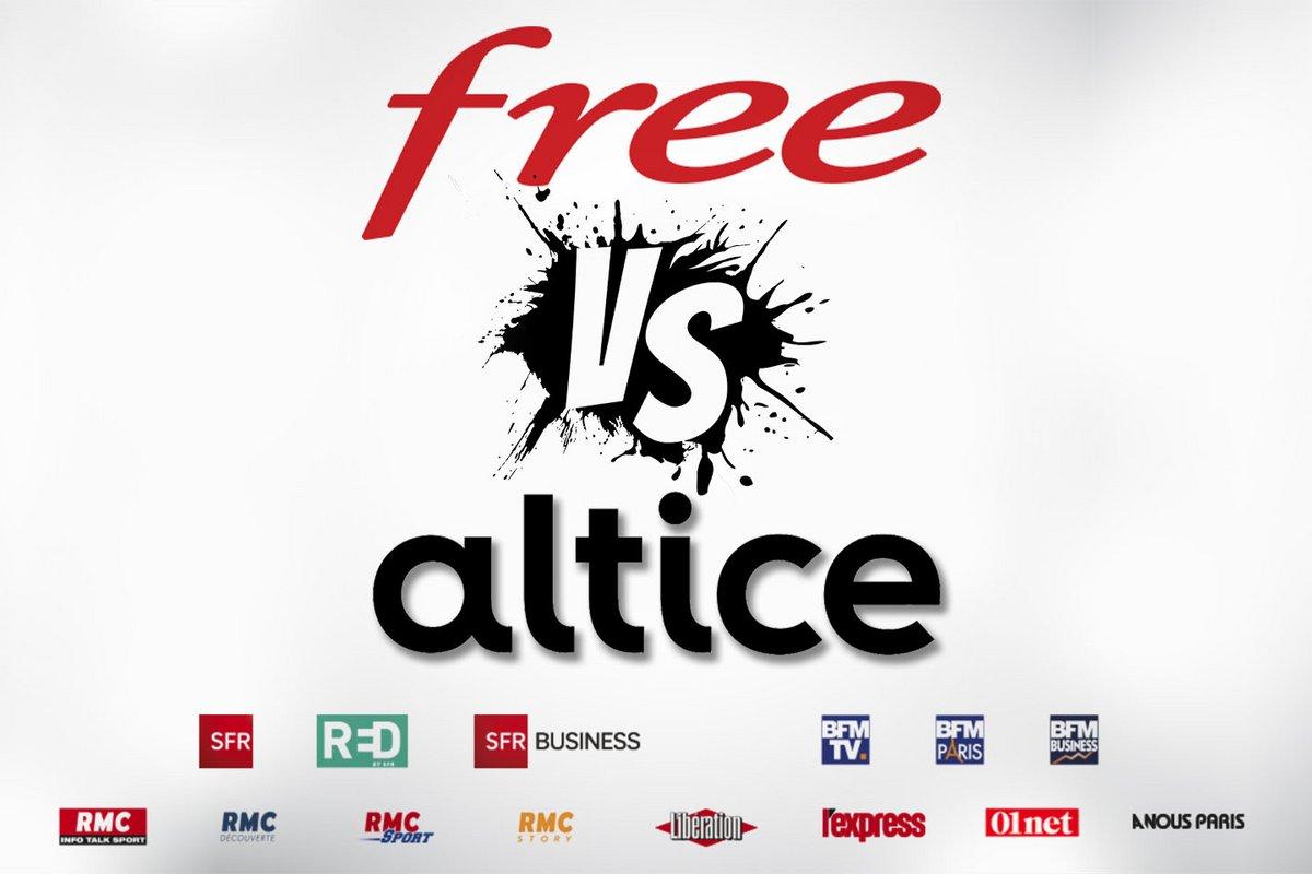 free VS altice 2