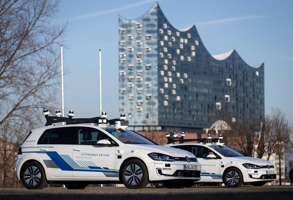 Volkswagen voiture autonome