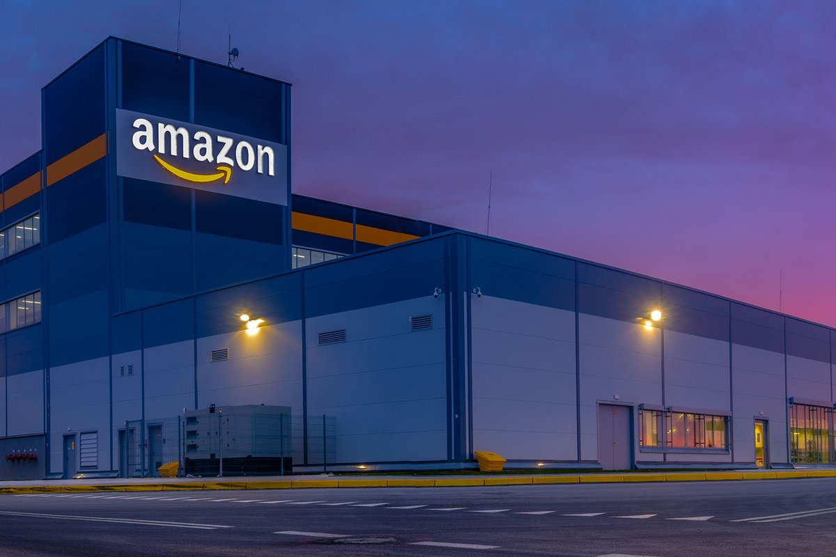 Amazon stock warehouse