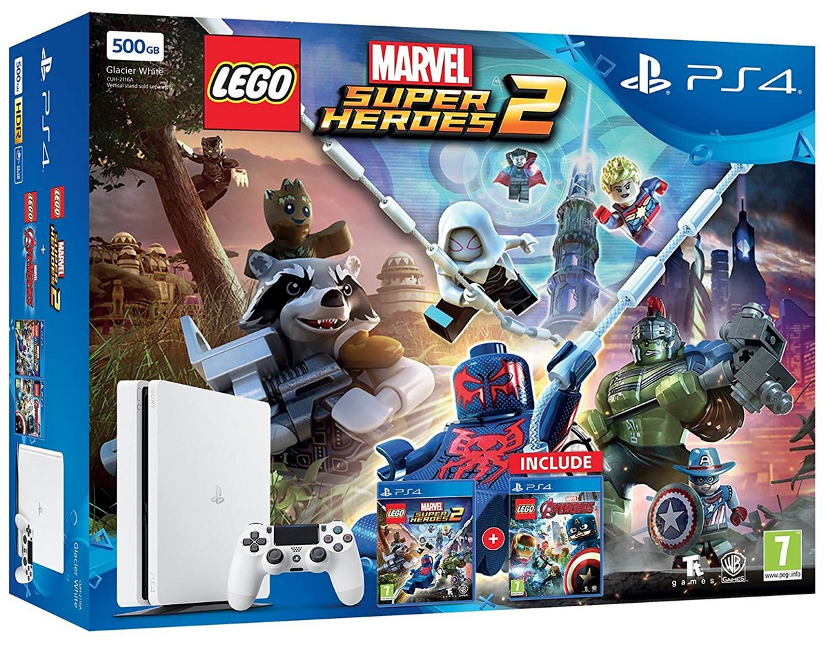 PS4 LEGO Marvel