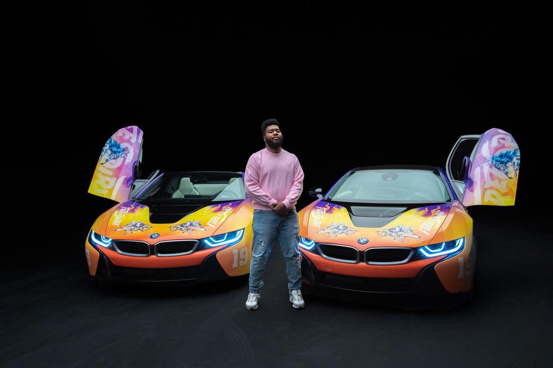 BMW i8 Khalid