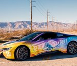 En images : BMW a dévoilé des photos de son i8 Roadster designé par Khalid